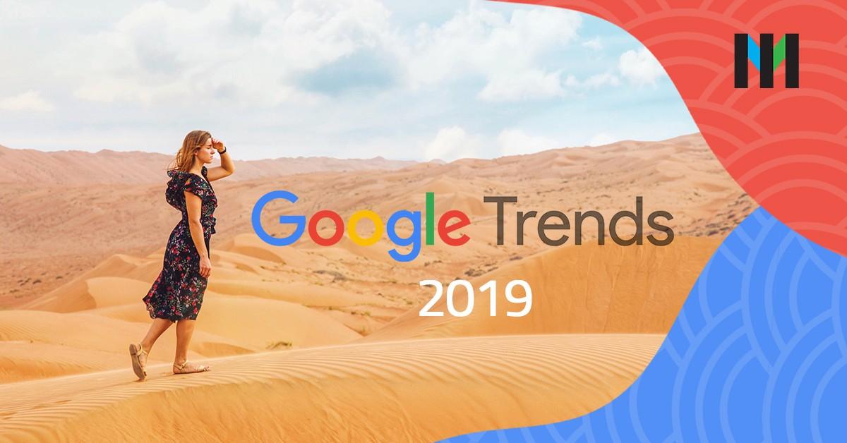 google najczęściej wyszukiwane frazy 2019